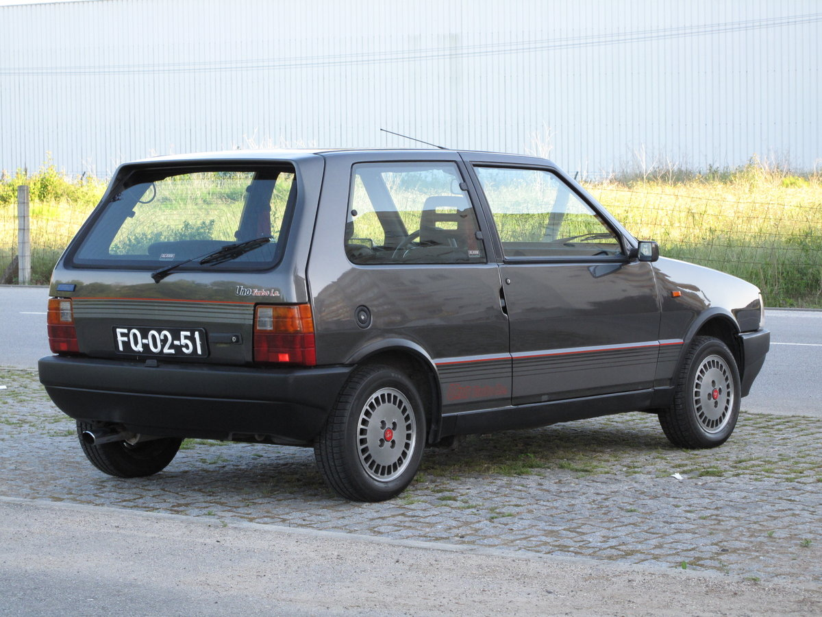 1987 Fiat Uno Turbo IE For Sale (picture 2 of 6)