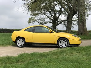 1996 N FIAT COUPE 2.0 16V TURBO BROOM YELLOW BEAUTIFUL