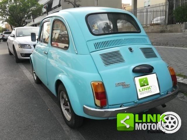 1970 Fiat 500 L RESTAURATA For Sale (picture 4 of 6)