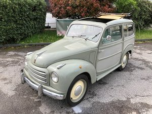 1952 FIAT - 500 C TOPOLINO BELVEDERE For Sale