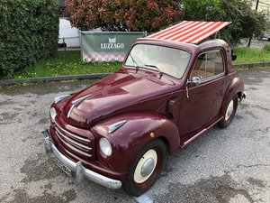 1952 FIAT 500 C TOPOLINO TRASFORMABILE For Sale