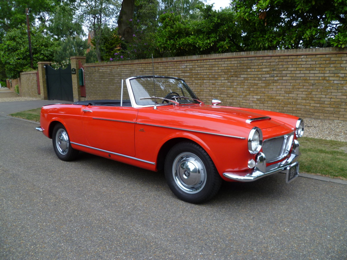 1962 FIAT 1200 CABRIOLET PININFARINA DESIGNED For Sale (picture 1 of 6)