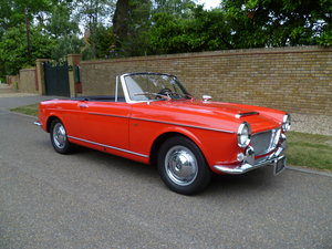 1962 FIAT 1200 CABRIOLET PININFARINA DESIGNED For Sale