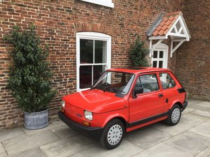 1989 FIAT 126 BIS VERY LOW MILEAGE UK CAR For Sale