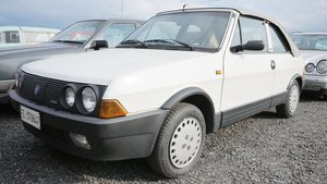 1986 Fiat Ritmo Cabriolet For Sale by Auction
