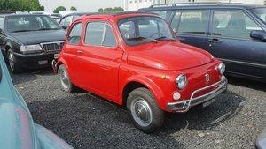 1969 Fiat 500L For Sale by Auction