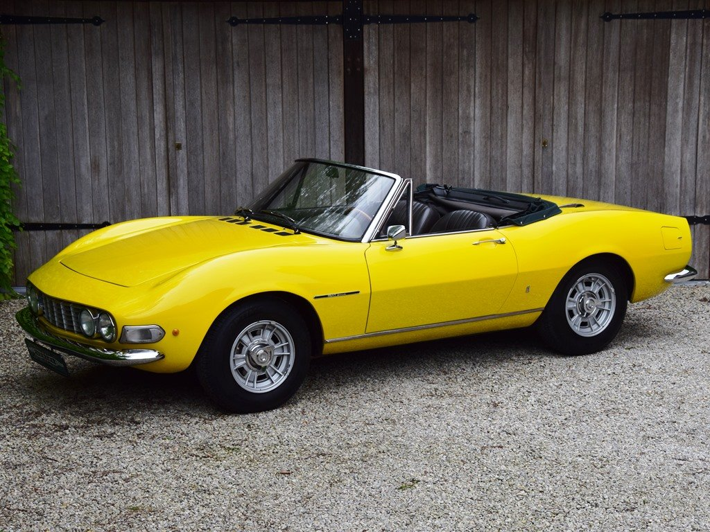 1967 Fiat Dino Spider 2000 - very early car (LHD) For Sale (picture 1 of 6)