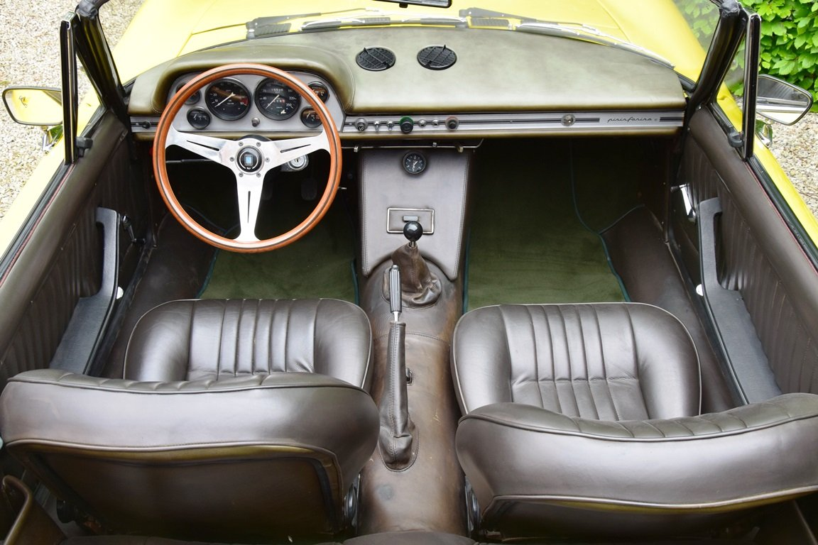 1967 Fiat Dino Spider 2000 - very early car (LHD) For Sale (picture 5 of 6)