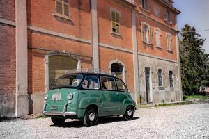 Fiat 600D Multipla Taxi Classic  1965 LHD / Restored & Mint! For Sale