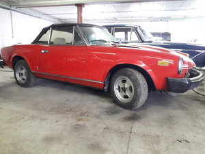 1981 FIAT 124 VS 2000I For Sale by Auction