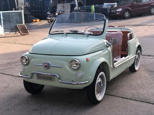 1966 Fiat 500 Jolly Rep - Fresh restoration - Concours Condition  For Sale