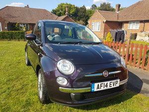 2014 Fiat 500 lounge 1.2 petrol For Sale