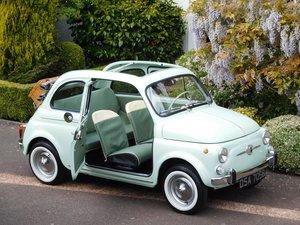 Fiat 500D Trasformabile 1964 LHD Italian/ Restored Condition For Sale