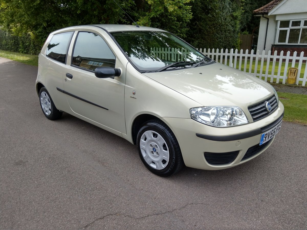 2005 Outstanding Original Fiat Punto Just 18,527 Miles SOLD (picture 1 of 6)