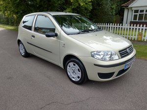 2005 Outstanding Original Fiat Punto Just 18,527 Miles For Sale