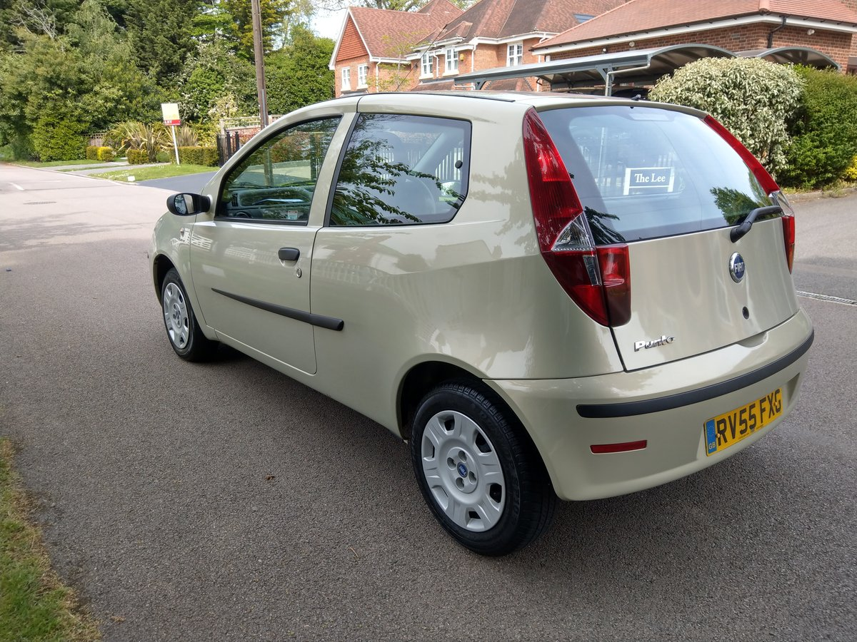 2005 Outstanding Original Fiat Punto Just 18,527 Miles SOLD (picture 2 of 6)