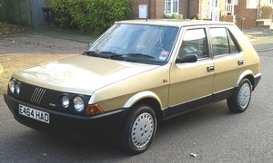 1988 Fiat strada 85 super maybe the last Mk111 For Sale