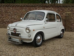1962 Fiat Abarth 850 TC fully restored condition, well documented For Sale