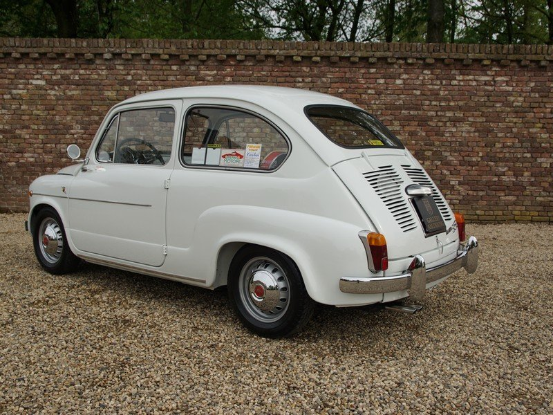 1962 Fiat Abarth 850 TC fully restored condition, well documented For Sale (picture 2 of 6)