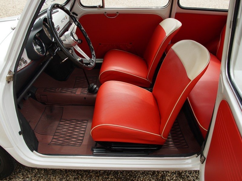 1962 Fiat Abarth 850 TC fully restored condition, well documented For Sale (picture 3 of 6)