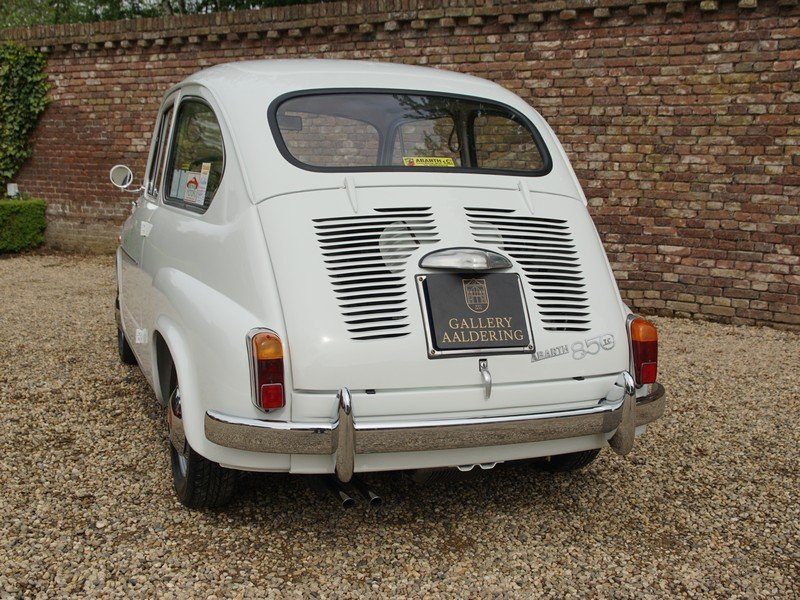 1962 Fiat Abarth 850 TC fully restored condition, well documented For Sale (picture 6 of 6)