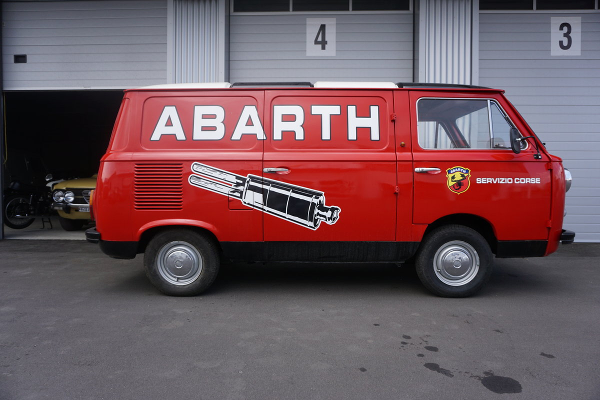 1973 Fiat 850T Abarth Corse Look, round lamps, SOLD (picture 1 of 6)