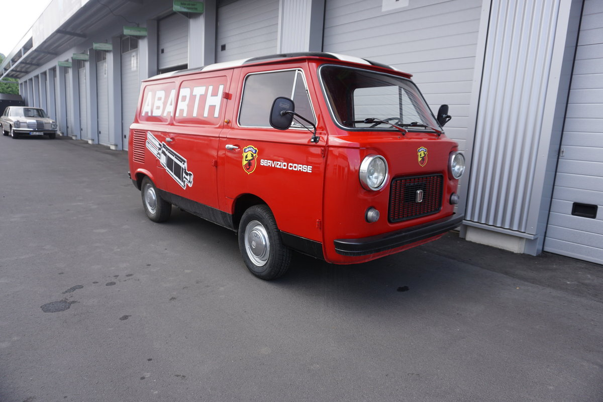 1973 Fiat 850T Abarth Corse Look, round lamps, SOLD (picture 2 of 6)