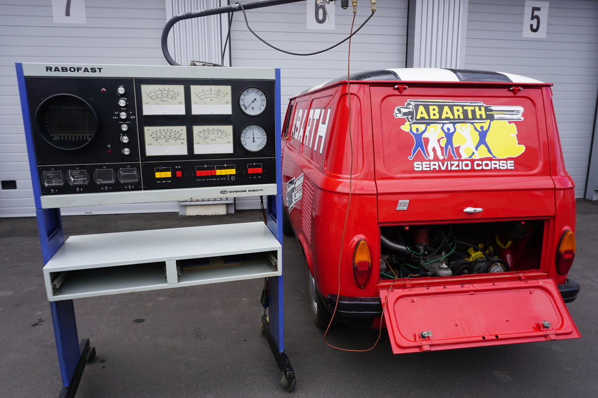 1973 Fiat 850T Abarth Corse Look, round lamps, SOLD (picture 4 of 6)