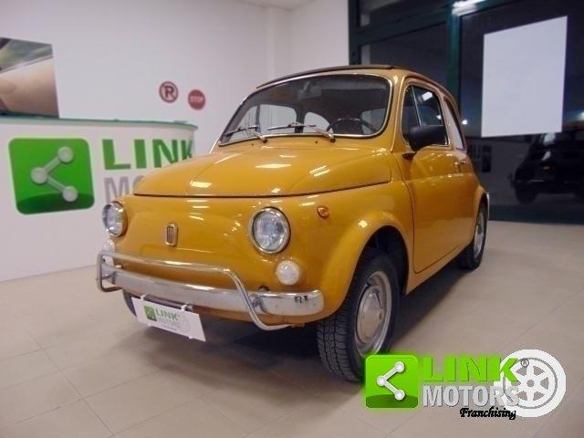 Fiat 500 L, anno 1971, manutenzione curata, restaurata, per For Sale (picture 1 of 6)