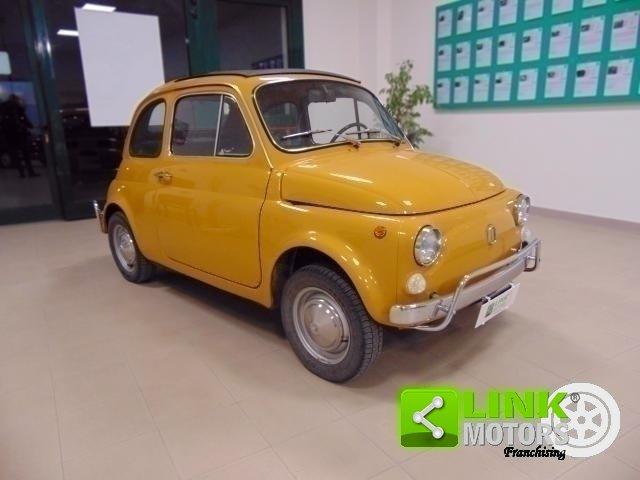 Fiat 500 L, anno 1971, manutenzione curata, restaurata, per For Sale (picture 2 of 6)