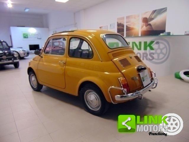 Fiat 500 L, anno 1971, manutenzione curata, restaurata, per For Sale (picture 3 of 6)