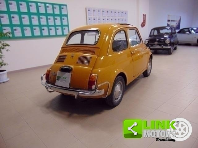 Fiat 500 L, anno 1971, manutenzione curata, restaurata, per For Sale (picture 4 of 6)