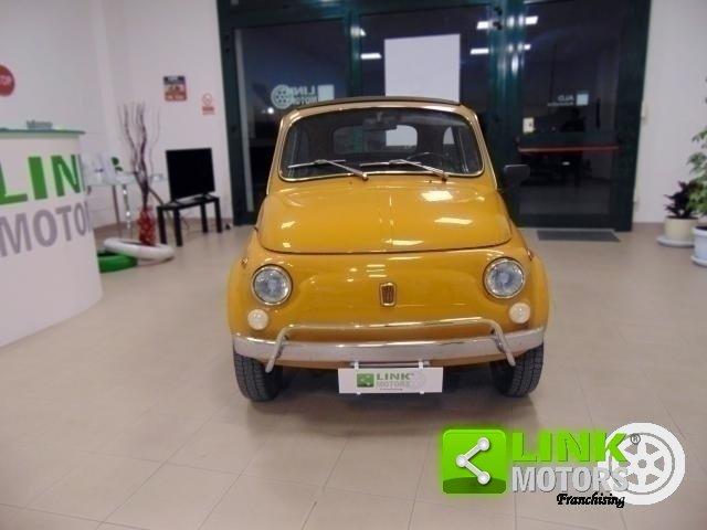 Fiat 500 L, anno 1971, manutenzione curata, restaurata, per For Sale (picture 5 of 6)