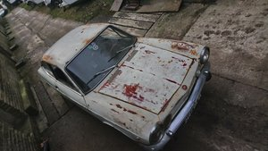 1968 Fiat 850 sport coupe restoration project For Sale