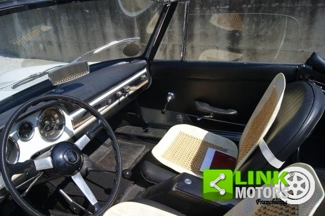 1965 Fiat 1500L  SPIDER PININFARINA  RESTAURO TOTALE KM.0 For Sale (picture 4 of 6)