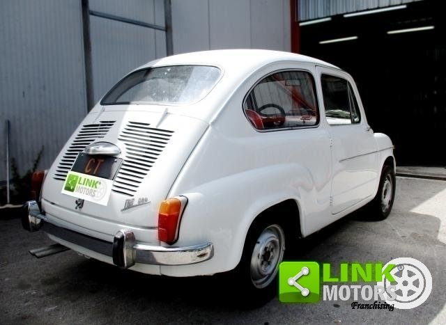 FIAT 600D portiere a vento (1960) For Sale (picture 4 of 6)