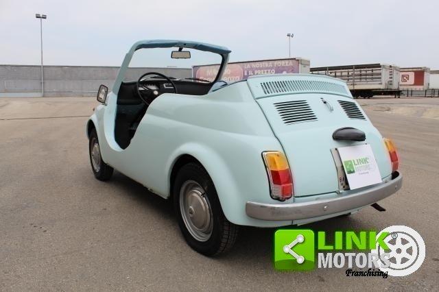 FIAT 500R REPLICA JOLLY SUMMER 1971 - OMOLOGATA For Sale (picture 2 of 6)