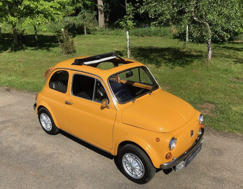 1971 '71 Fiat 500L - Genuine UK RHD Stunning Low Mileage SOLD (picture 1 of 6)