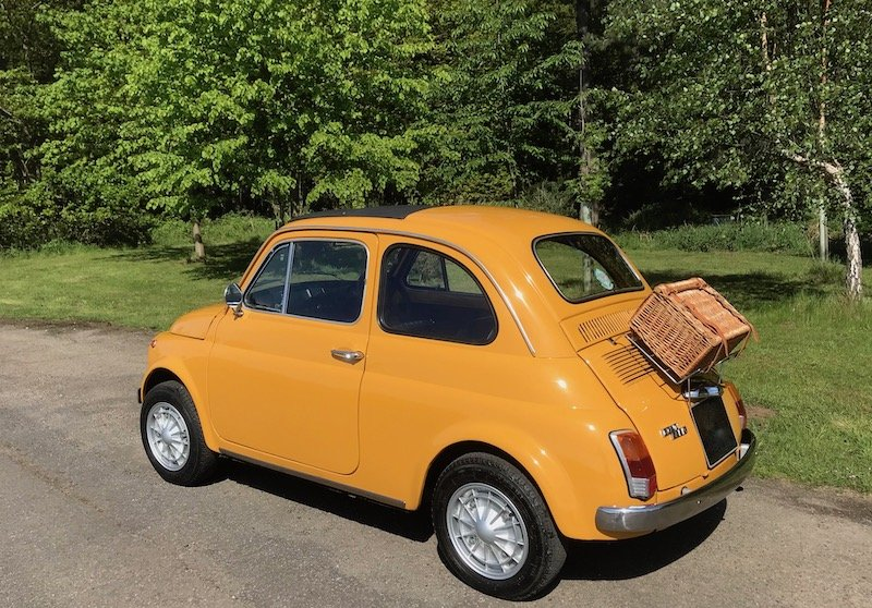 1971 '71 Fiat 500L - Genuine UK RHD Stunning Low Mileage SOLD (picture 2 of 6)