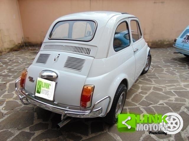 1972 Fiat 500 L 110 F completamente restaurata, iscritta ASI. For Sale (picture 4 of 6)