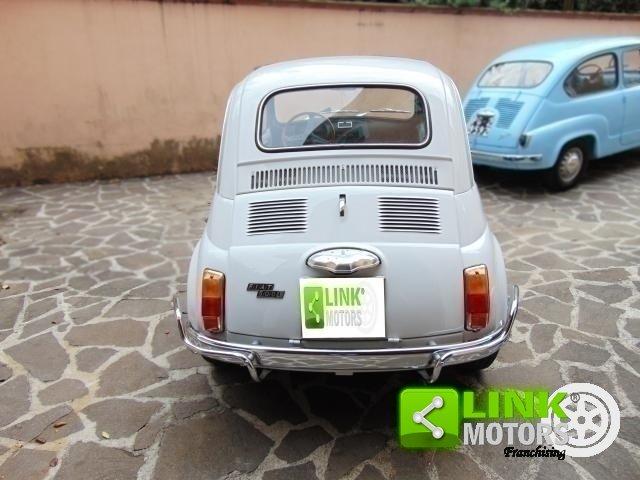1972 Fiat 500 L 110 F completamente restaurata, iscritta ASI. For Sale (picture 5 of 6)