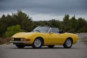 1968 Fiat Dino Spider 2L For Sale by Auction
