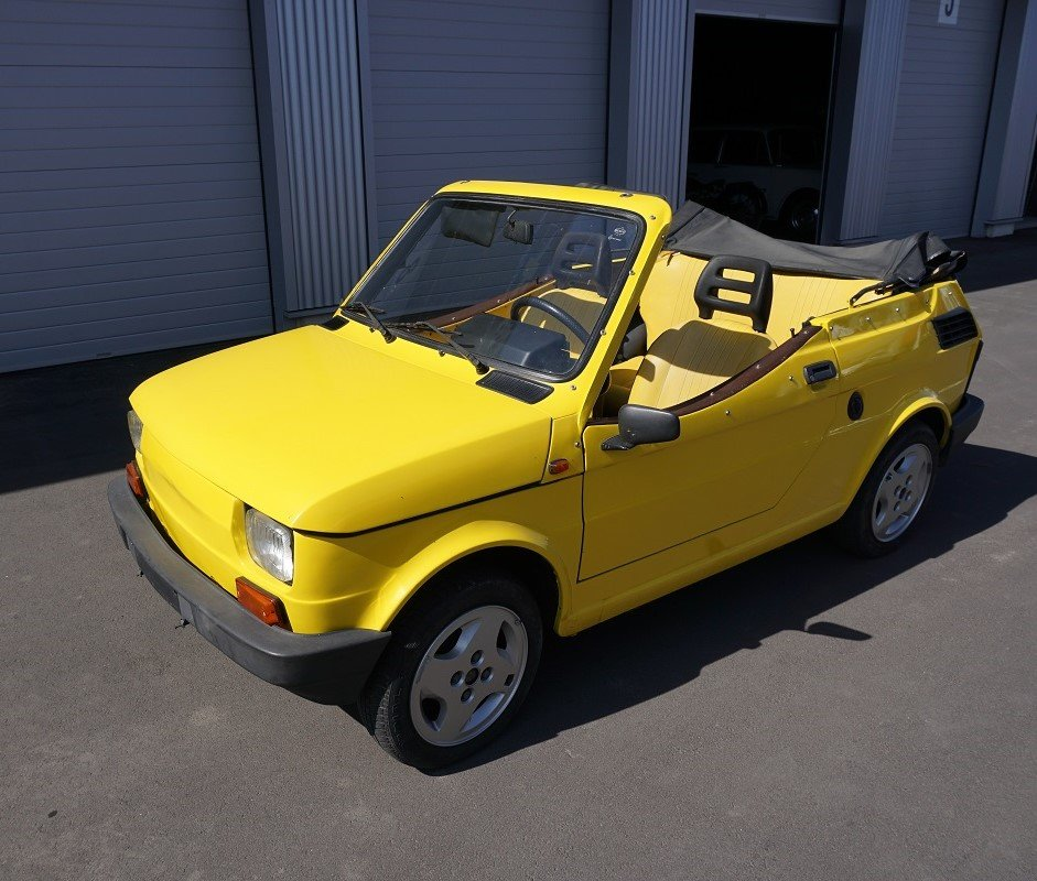 1988 FIAT 126 spider by Gavelli from Turino For Sale (picture 1 of 6)