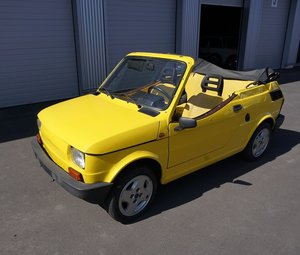 1988 FIAT 126 spider by Gavelli from Turino For Sale