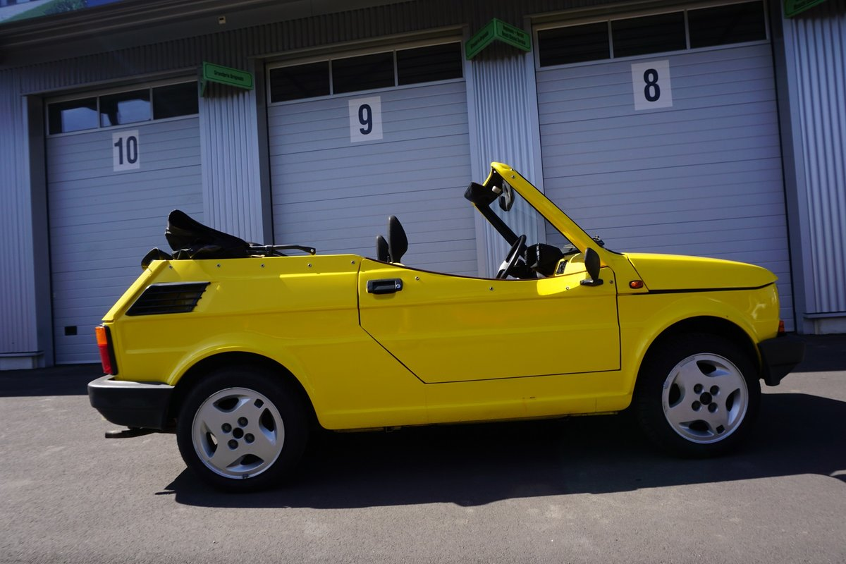 1988 FIAT 126 spider by Gavelli from Turino For Sale (picture 6 of 6)