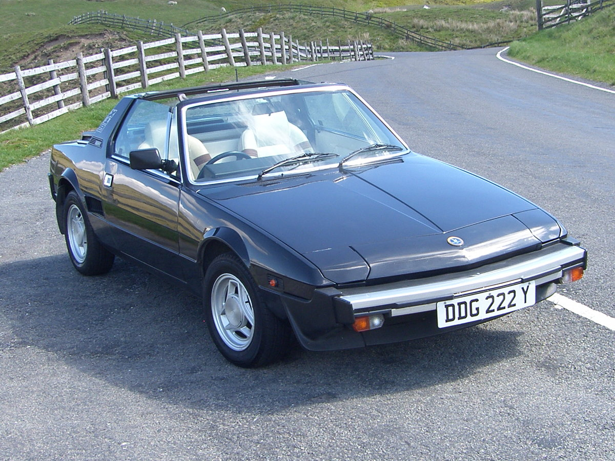 1983 Fiat X1/9 1500  For Sale (picture 1 of 6)