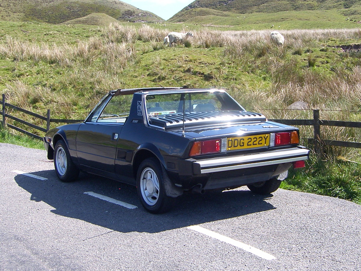 1983 Fiat X1/9 1500  For Sale (picture 3 of 6)