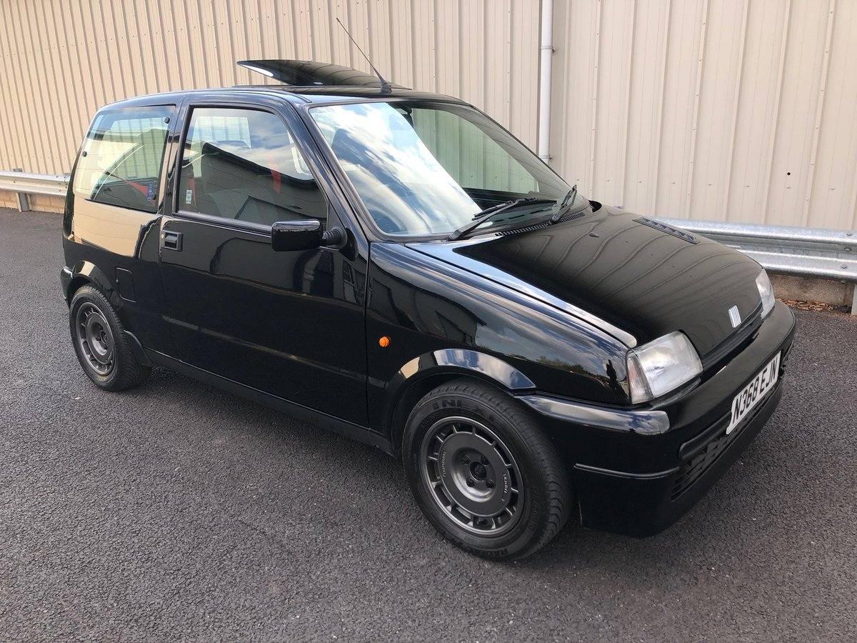 1996 N FIAT CINQUECENTO 1.1 SPORTING VAN AAKEN TURBO SOLD (picture 1 of 6)