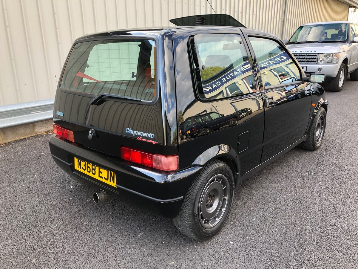 1996 N FIAT CINQUECENTO 1.1 SPORTING VAN AAKEN TURBO SOLD (picture 3 of 6)