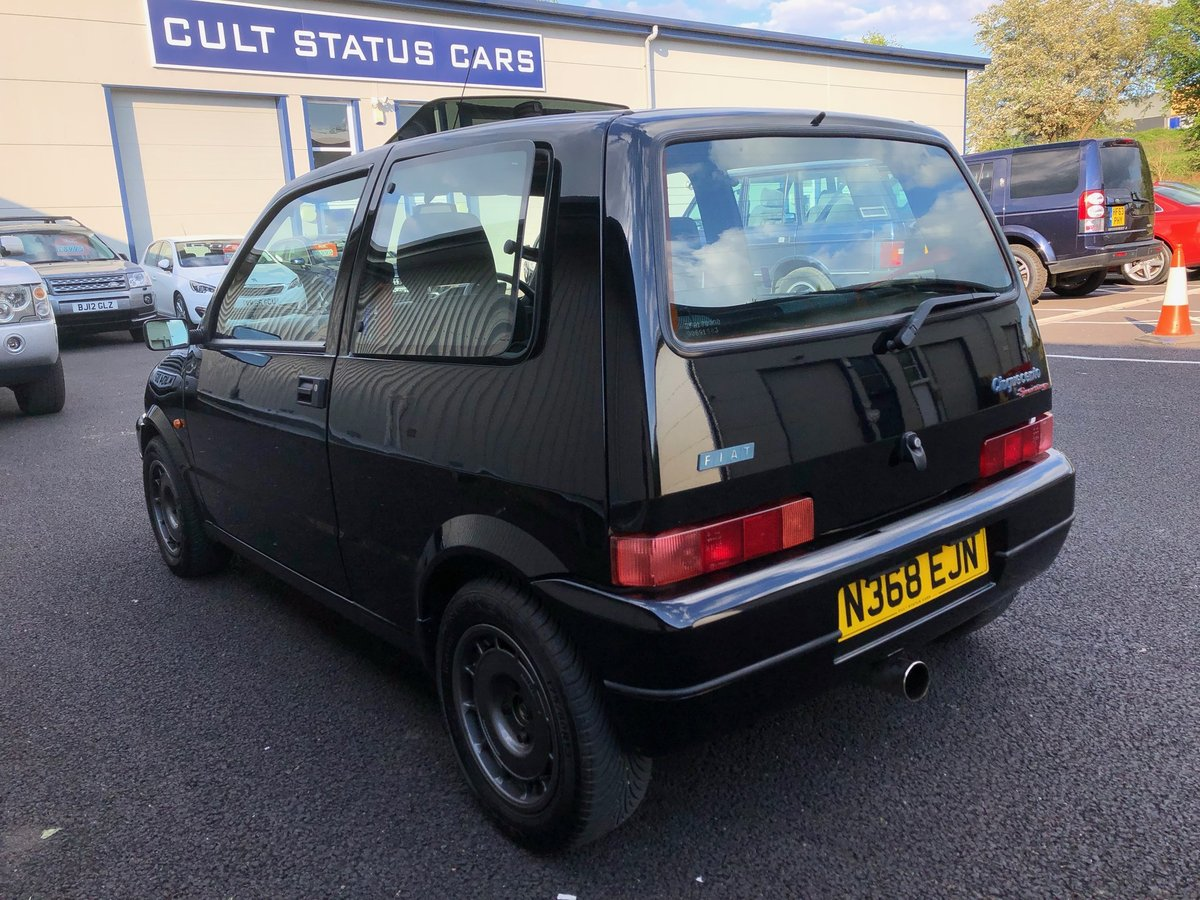 1996 N FIAT CINQUECENTO 1.1 SPORTING VAN AAKEN TURBO SOLD (picture 4 of 6)
